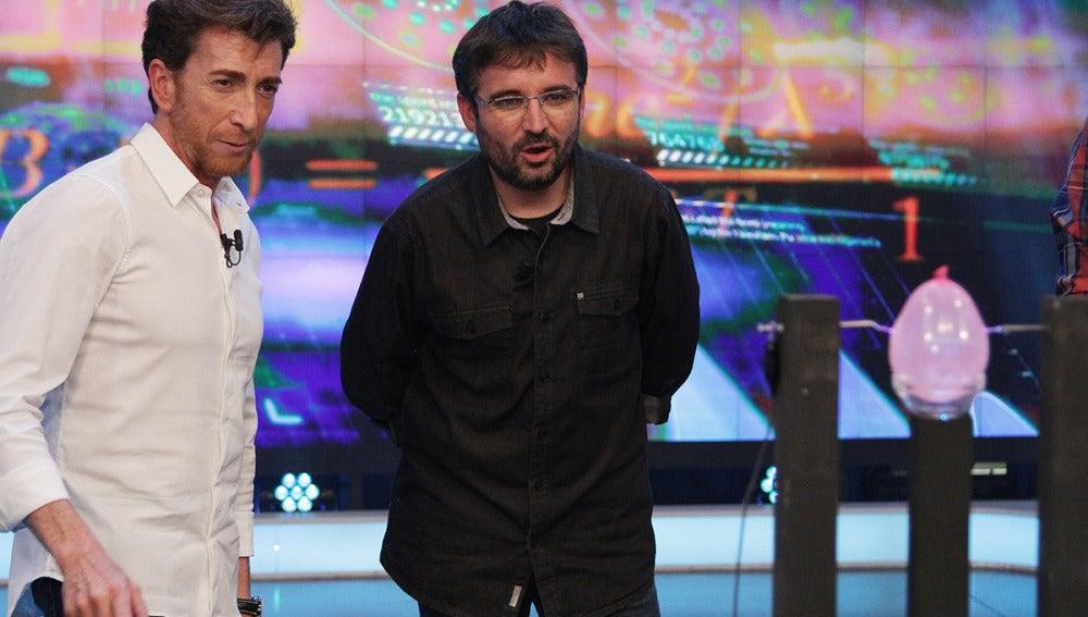 Jordi Évole en El Hormiguero 3.0