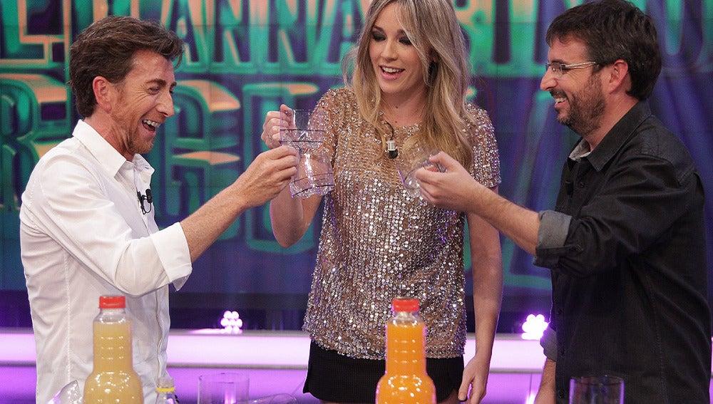 Pablo Motos, Anna Simon y Jordi Évole en El Hormiguero 3.0