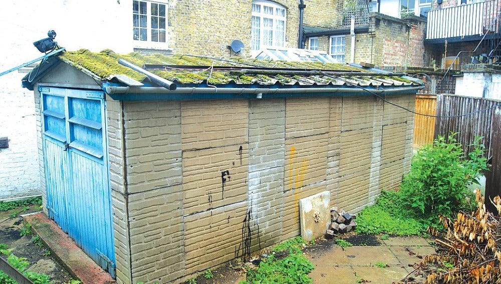 El garaje que será subastado al mejor postor en Londres