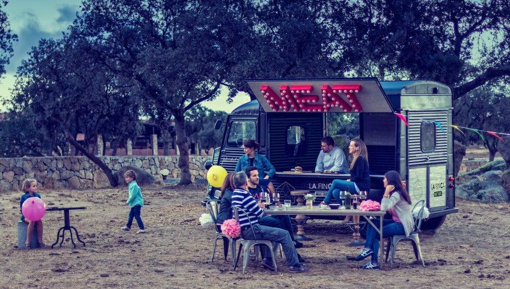 El 'meat truck' de La Finca estará en MadrEAT.