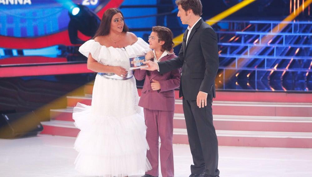 Samuel y María del Monte ganan la sexta gala de Tu cara me suena Mini
