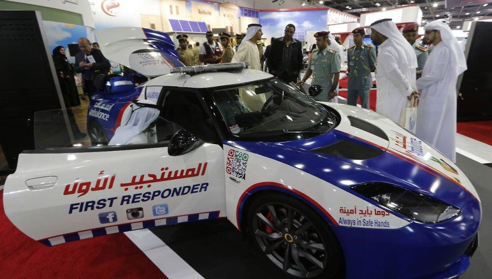 El Lotus Evora ambulancia de Dubai