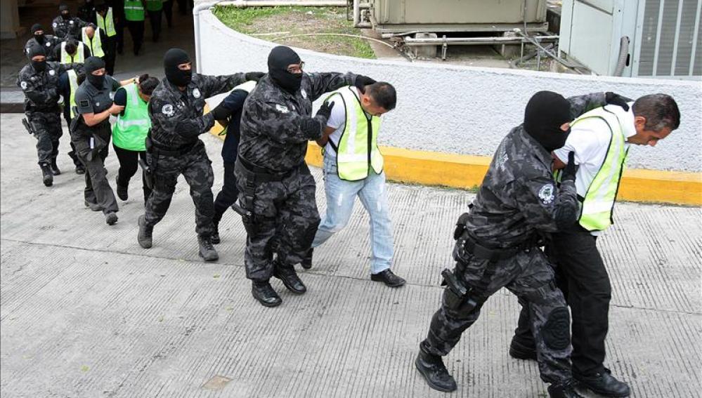 Detenidos por la desaparición de 43 estudiantes en Iguala