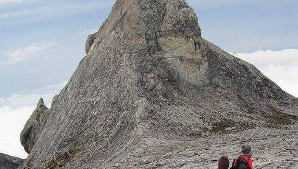 El monte Kinabalu