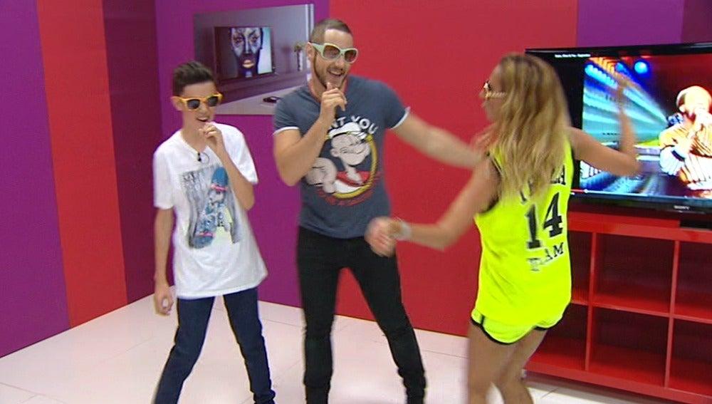José Luis y Daniel Diges aprenden a bailar en los ensayos de Tu cara me suena Mini