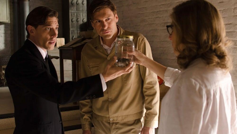Pedro, Adolfo y Rita