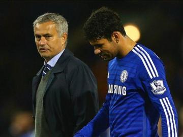 Jose Mourinho y Diego Costa