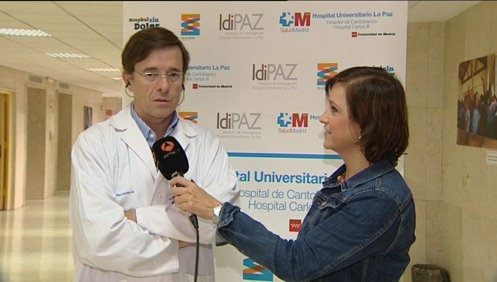El doctor José Ramón Arribas