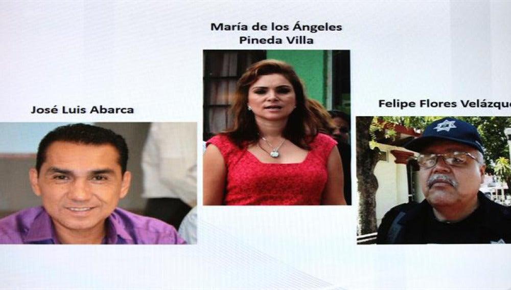 Imágenes del alcalde de Igualada y su esposa.