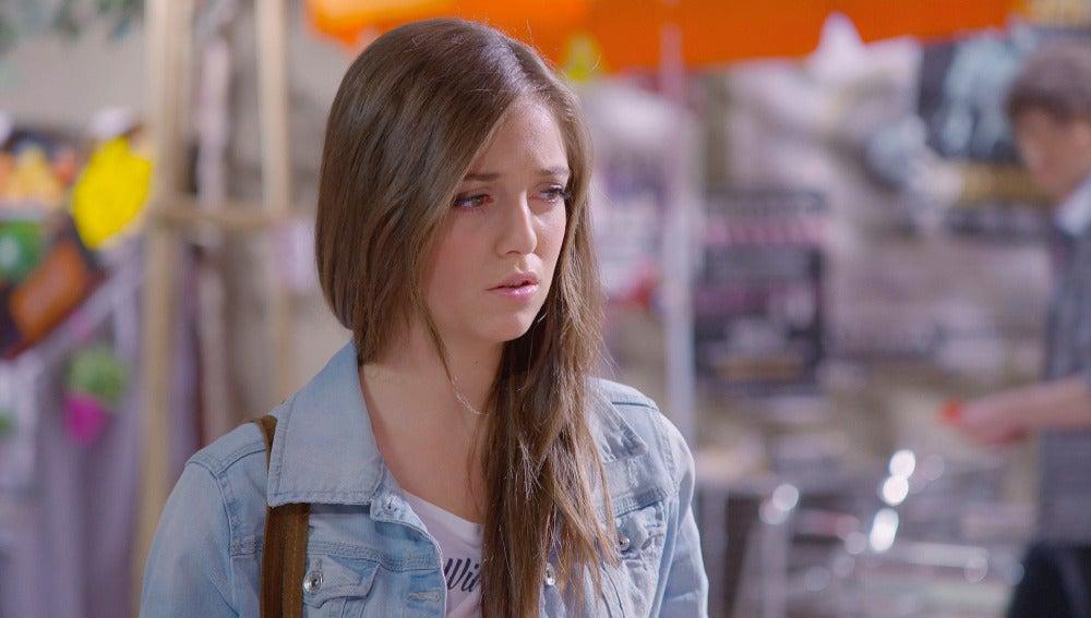 Paula decepcionada tras hablar con Carlos