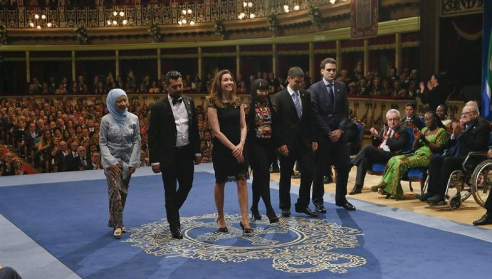 Premiados en los Príncipe de Asturias