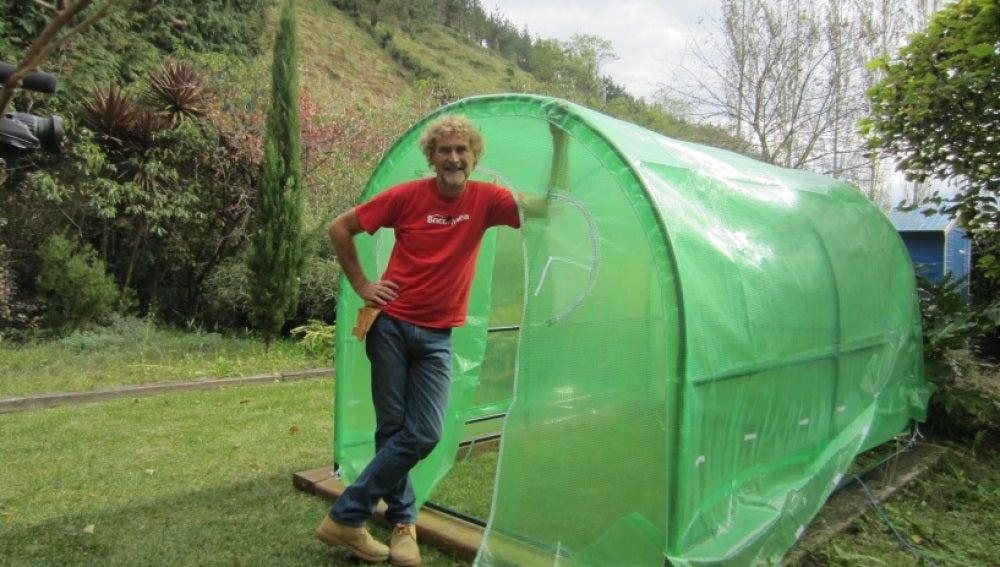 Bricomanía enseña a construir un invernadero