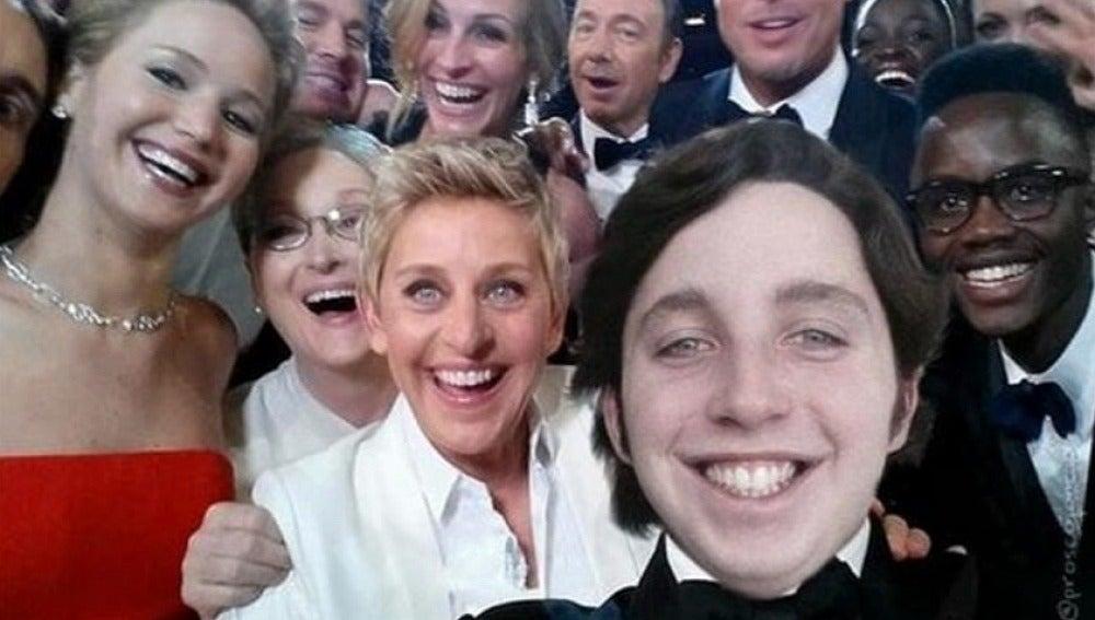 Selfie de los Óscar