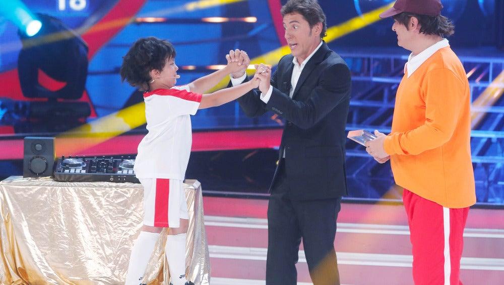 Fran y Miki Nadal ganan la séptima gala de Tu cara me suena Mini