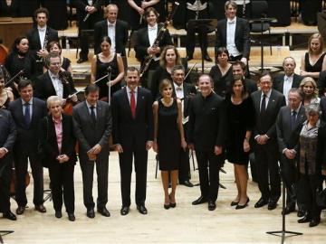 Los Reyes ocupan con varias audiencias la mañana de los Príncipe de Asturias