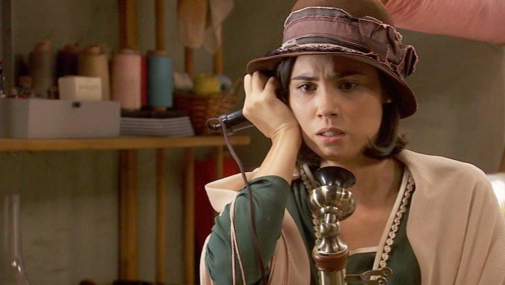 María recibe una llamada de Gonzalo, ¿estará bien?