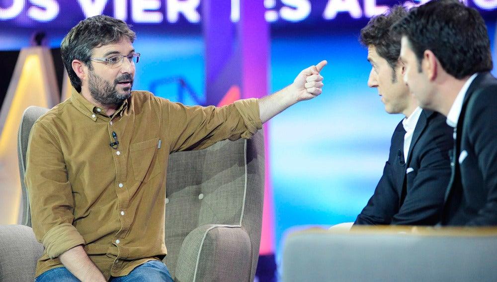 Jordi Évole en 'Los viernes al show'
