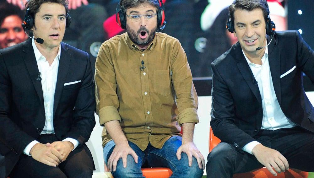 Juego de goles con Jordi Évole