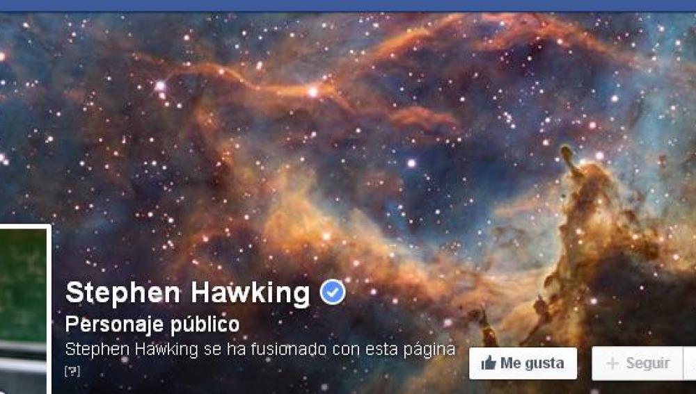 Stephan Hawking llega a Facebook