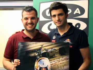 Carlos Sainz junior en Al Primer Toque con Héctor Fernández