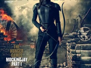 Katniss, preparada para la batalla en la portada de Empire