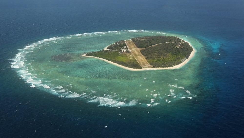 La isla Lady Elliot, en la Gran Barrera de Coral