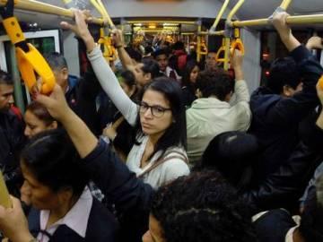 Mujeres en el metro