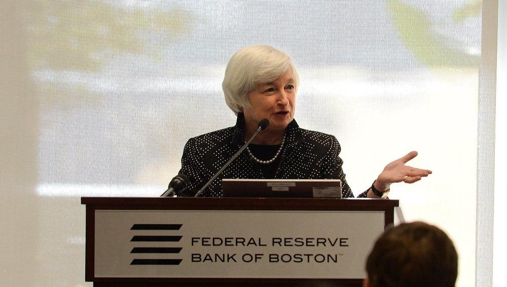 Yanet Yellen, presidenta de la Reserva Federal de EEUU