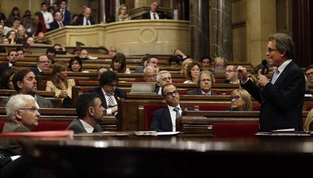 Sesión de control al Gobierno catalán