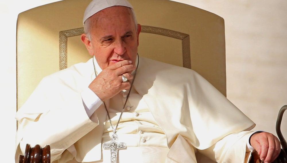 El Papa Francisco, durante una misa en El Vaticano