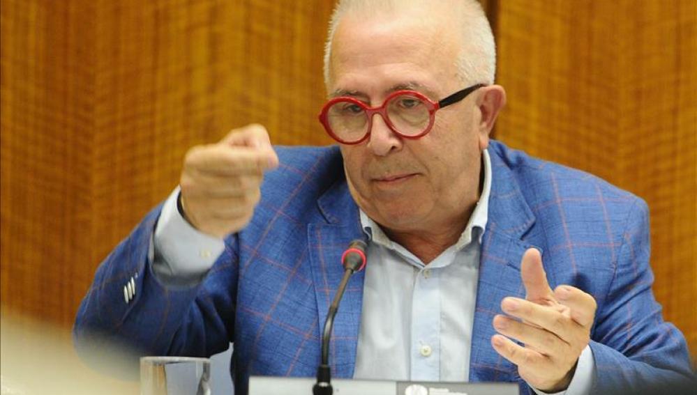 El consejero de Economía, Innovación, Ciencia y Empleo, José Sánchez Maldonado