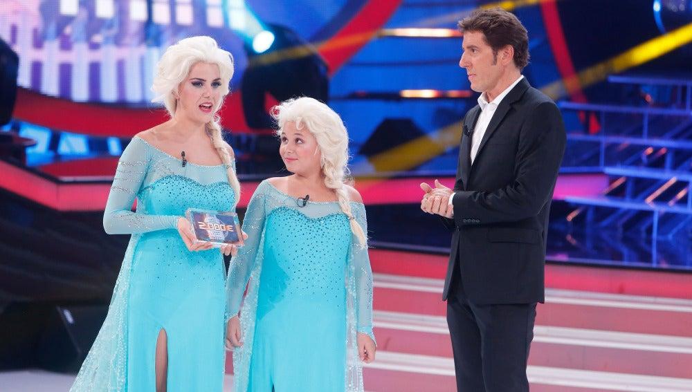 Carla y Roko ganan la octava gala de Tu cara me suena Mini cantando Let it go de Frozen