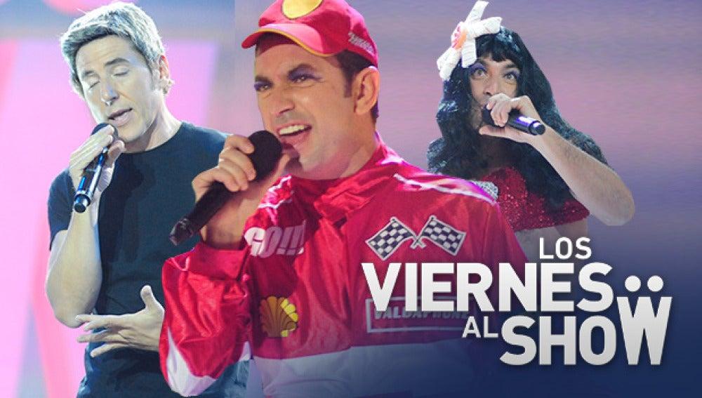 Manel y Arturo parodian la actualidad imitando a Eros Ramazzotti, Fernando Alonso y Katy Perry