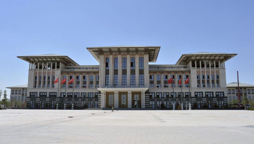 Palacio presidencial en Turquía