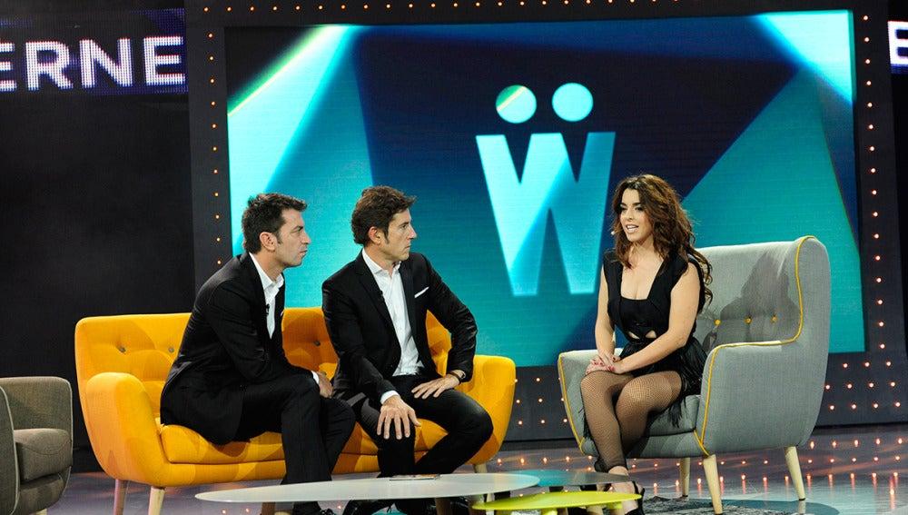 Arturo Valls y Manel Fuentes entrevistan a Ruth Lorenzo