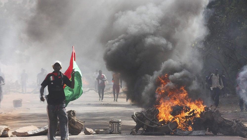 Protestas en Burkina Faso