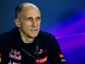 Franz Tost, jefe de Toro Rosso