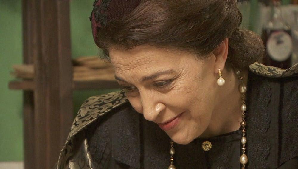 ¿Por qué Francisca se despide de manera tan extraña de Bernarda?