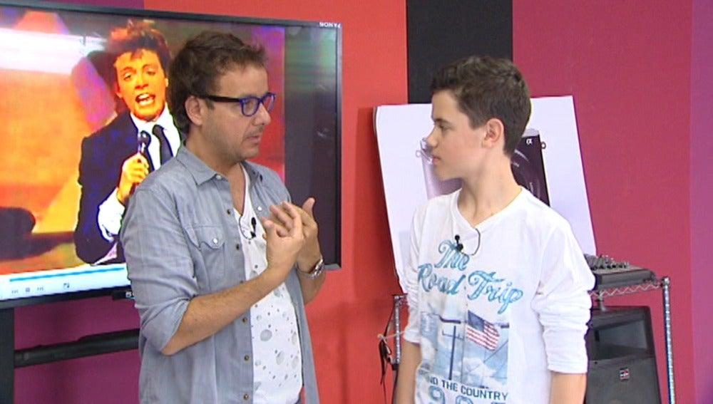 José Luis va a sorprender al público el próximo jueves imitando a Luis Miguel en Tu cara me suena Mini