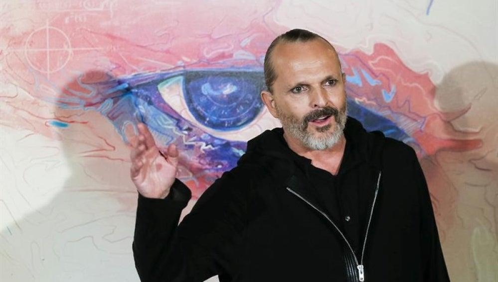 Miguel Bosé presenta Amo.