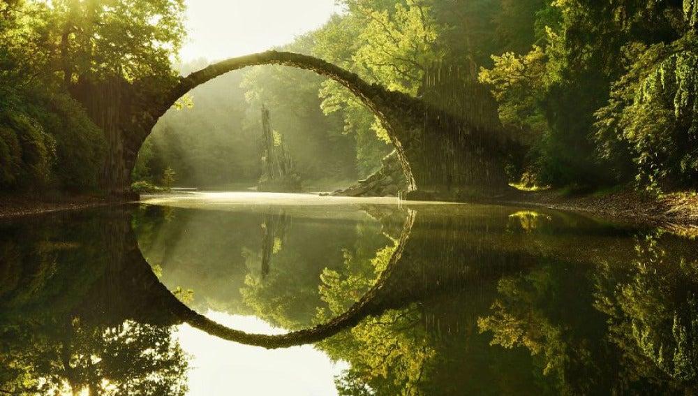 Puente de Rakotz, Alemania