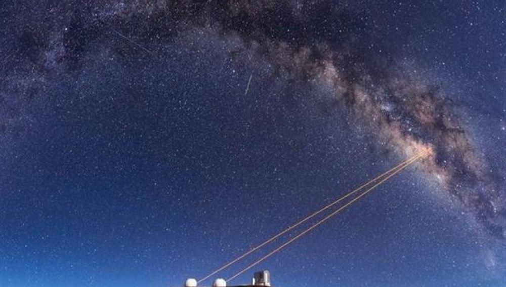 Resuelto el enigma del extraño cuerpo en el centro de la Vía Láctea