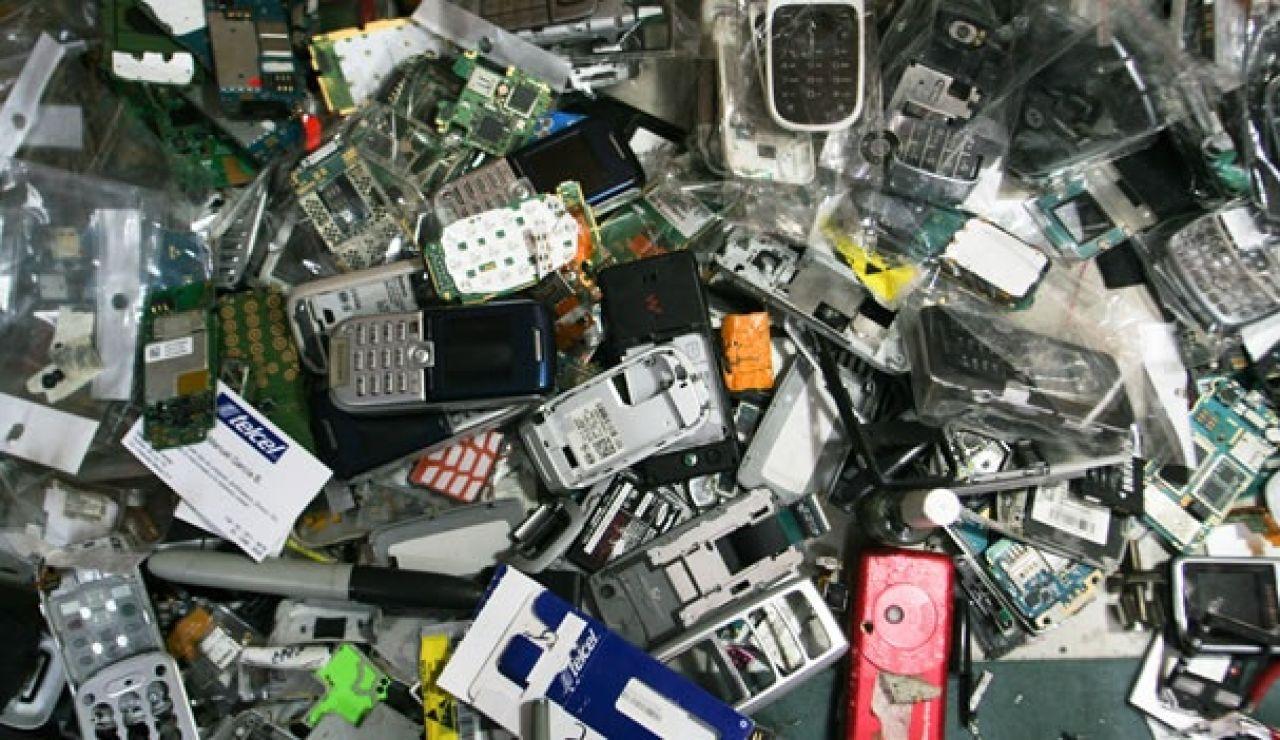 La basura electrónica, una bomba ecológica para nuestro planeta