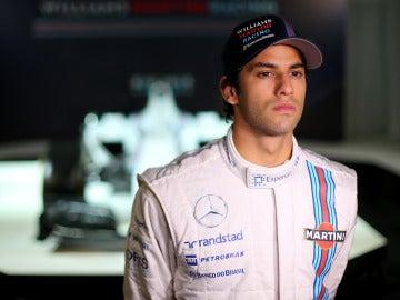 El piloto brasileño Felipe Nasr
