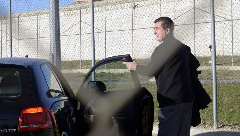 Jaume Matas, a la salida de la prisión