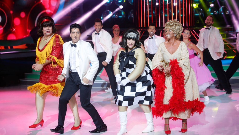 Roko, Xuso Jones, Miki Nadal y Llum Barrera cantan You Can't Stop The Beat de Hairspray en Tu cara me suena Mini