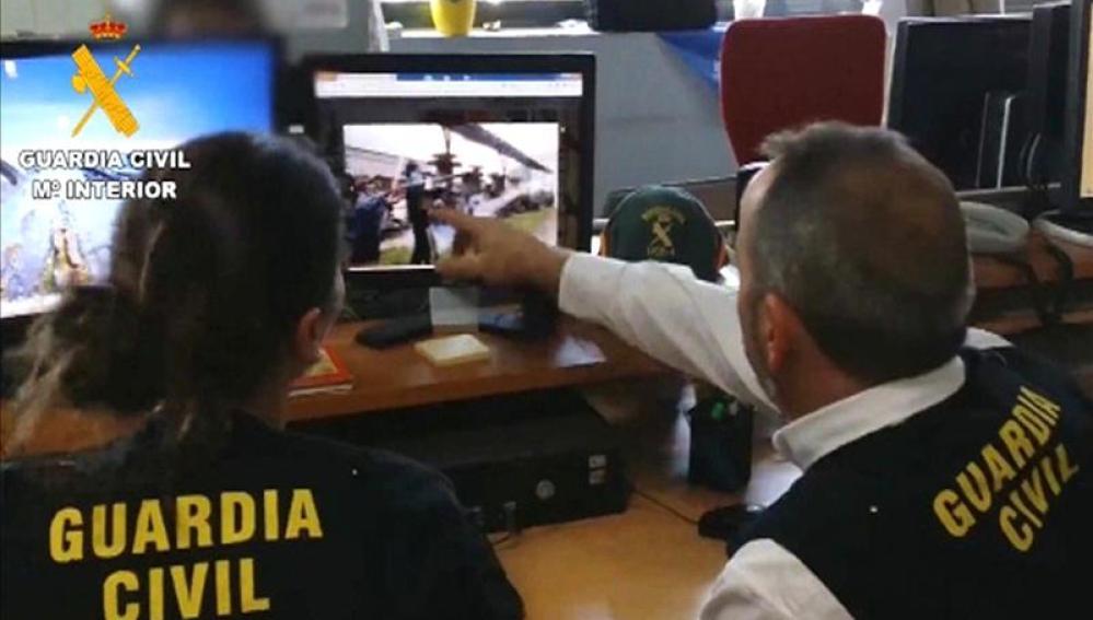 Detenidos por enaltecimiento del terrorismo en internet
