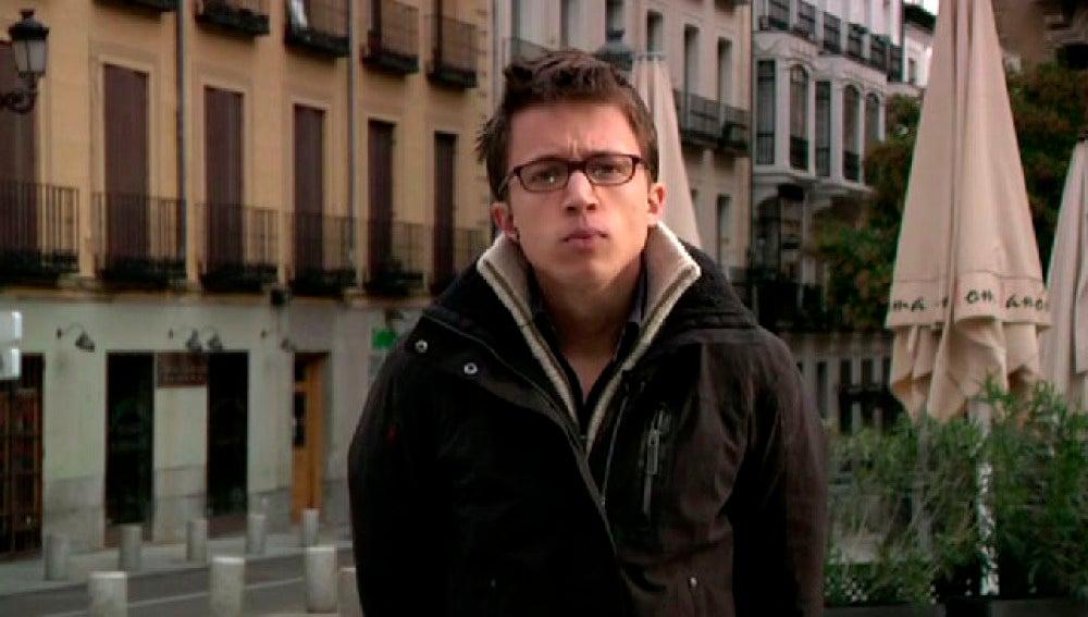 Iñigo Errejón, portavoz de Podemos