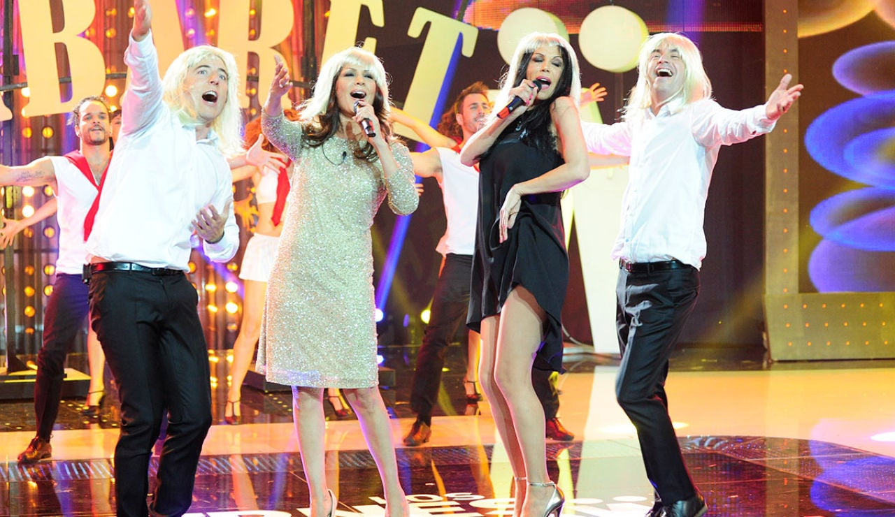 Las Azúcar Moreno en Los viernes al show