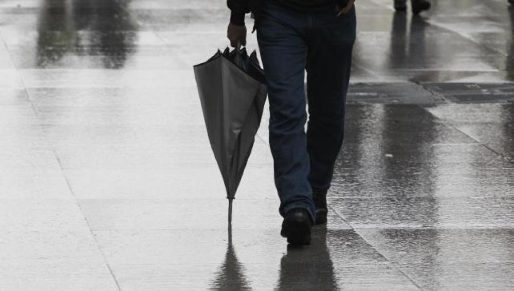 Lluvias en España